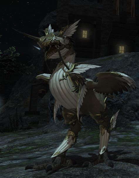 Bismarck Barding Is Pretty Cool When Your Chocobo Is In