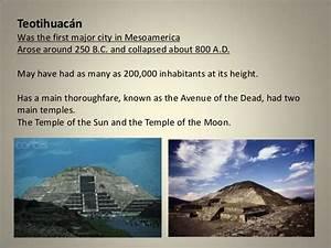 Maya Aztec And Inca Civilizations Chart Mesoamerican Civilizations Notes