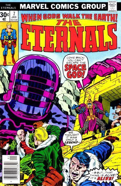 Steve Does Comics: The Eternals #7.