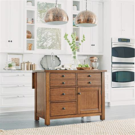 kitchen island maple home styles americana white kitchen island with drop leaf 1948