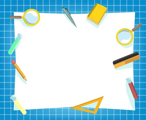 White Education Background Vector Vector Art & Graphics