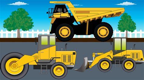 monster trucks video bulldozer truck monster trucks for kids video for kids