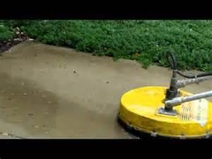 concrete power scrubber youtube