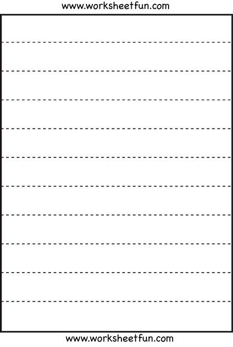 line tracing 3 worksheets printable