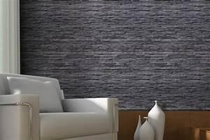 Papier Peint Pierre Blanche : papier peint pierre trompe l oeil id es ~ Dailycaller-alerts.com Idées de Décoration