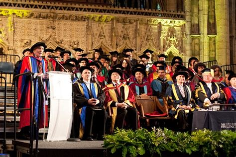 University Of Lincoln Students Graduate