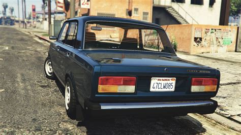 VAZ-2107 (Lada Riva) [Add-On / Replace | Tuning] - GTA5 ...