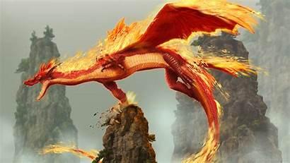Dragon Fire Fantasy Cool Desktop Backgrounds Iphone