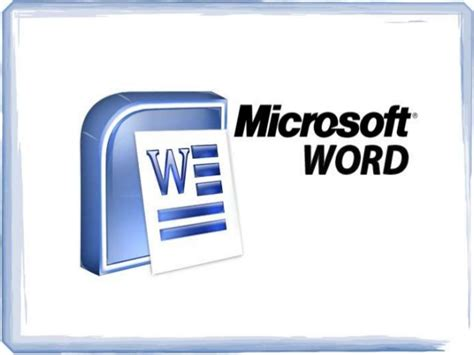 micresoft word microsoft word ppt presentation