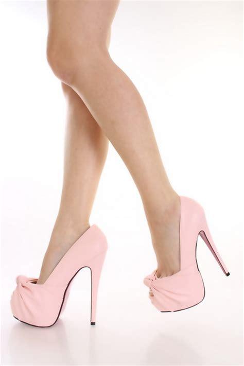 light pink heels light pink high heels