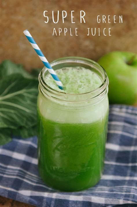 so let s hang out super green apple juice