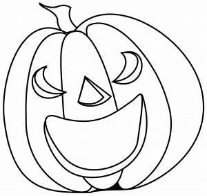 Halloween Clip Art Black And White Pumpkin | Clipart Panda ...