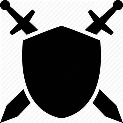 Shield Sword Transparent Clipart Circle Icon Symbol