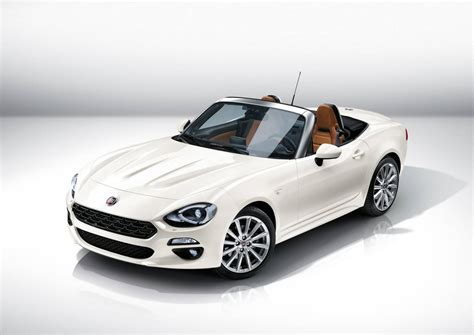 fiat spider 124 official 2016 fiat 124 spider gtspirit