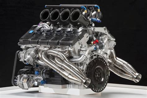 Volvo Reveals V8 Supercar Engine