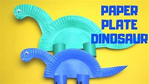 How To Make A Paper Plate Dinosaur