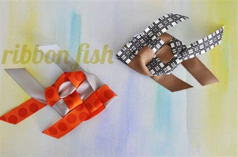 weave  ribbon fish  images ribbon crafts