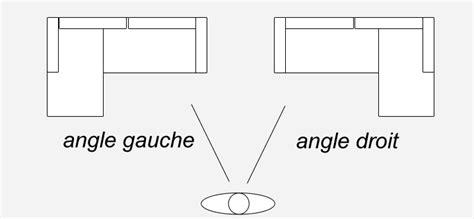 canapé angle gauche ou droit canapé d 39 angle droit ou gauche
