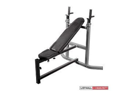 Northern Lights Weight Bench by 230lbs Metal Weight Northern Lights Bench 6ft Bar