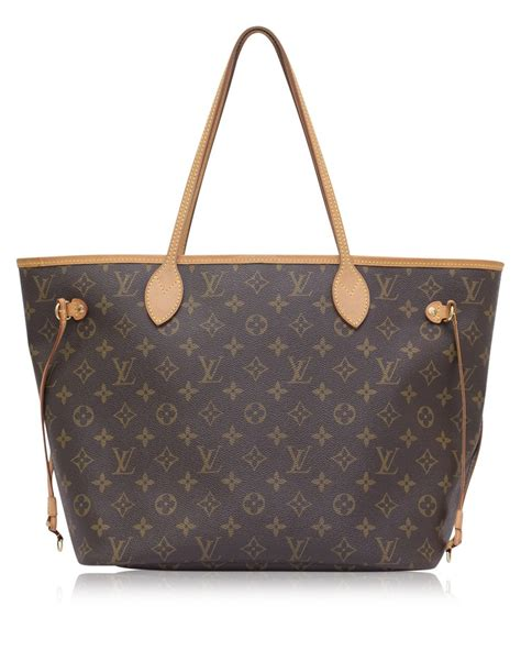 louis vuitton monogram neverfull mm tote bag high