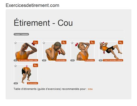 pour chaise de bureau exercicesdetirement com l 39 image étirement cou