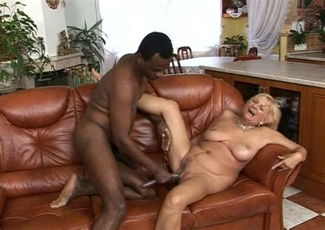 Classy Looking Granny Goes Nuts In Hardcore Interracial