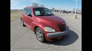 2002 Chrysler Pt Cruiser Limited Edition Red
