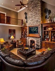 75, Cozy, Farmhouse, Living, Room, Makeover, Decor, Ideas