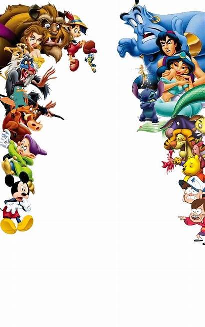 Disney Characters Background Pixar Shocked Cartoons Transparent