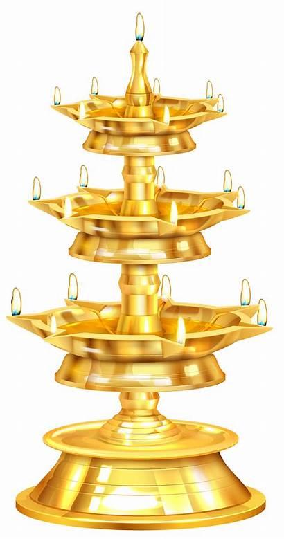 Diwali Clip Clipart Happy Lamp Oil Samai