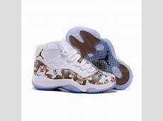Nike New Jordans 2015 women Jordan 11 White Brown With