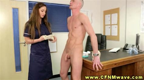 Cfnm Doctor And Nurse Stroke Patients Cock During Appointment On Gotporn