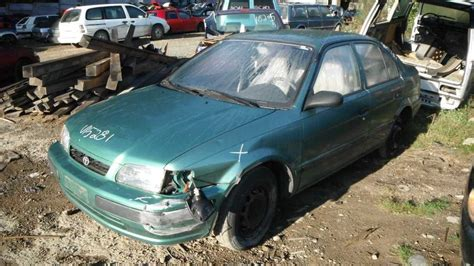 Toyota Tercel Parts by Used 1995 Toyota Tercel Front Fender Right Part