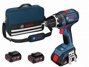 Visseuse Bosch Pro 18v 4ah : perceuse visseuse sans fil 18v livr e avec 3 batteries 4ah ~ Dailycaller-alerts.com Idées de Décoration