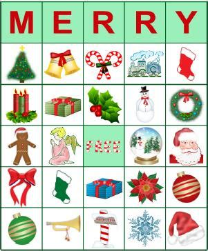 Check spelling or type a new query. Printable BINGO Cards for Christmas   LoveToKnow