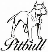 Barking Dog Drawing Coloring Pitbull Getdrawings sketch template