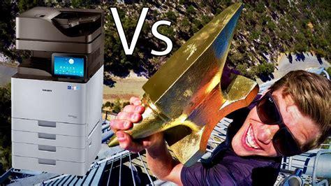 Anvil Vs. Giant Office Printer 45m Drop Test!! Download