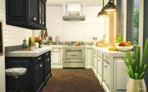 KITCHEN 01 at Alachie & Brick Sims » Sims 4 Updates