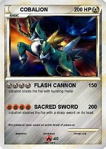 Pokémon COBALION 111 111 - FLASH CANNON - My Pokemon Card