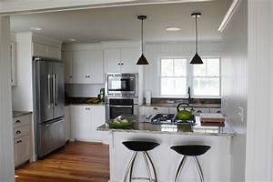 Small Beach House Lives Big - Beach Style - Kitchen