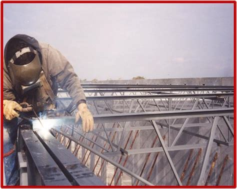 safe side erecting open web steel joist