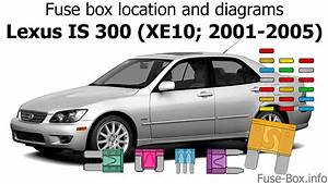Fuse Box Location And Diagrams  Lexus Is 300  Xe10  2001-2005