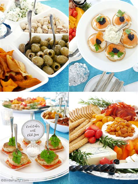 christmas party appetizer menu ideas hosting a cocktail appetizers ideas printables