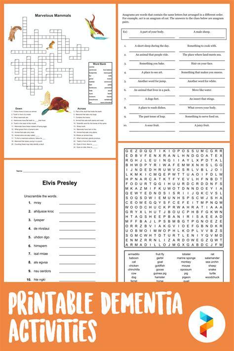 printable dementia activities printableecom