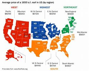 Roof Replacement Cost Variations Across Us Regions