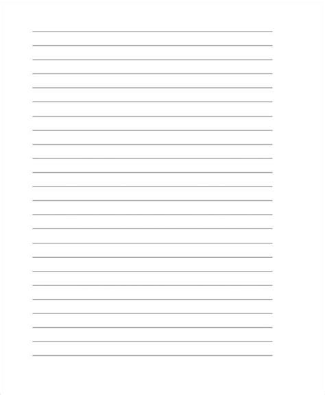 lined paper templates  premium templates