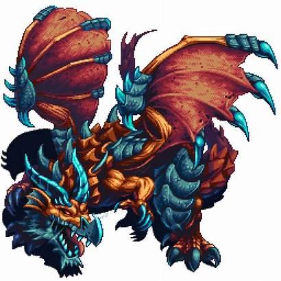 Pixel Boss Dragon Characters Pixeljoint Character Dragons