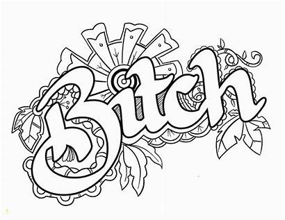 Coloring Swear Words Printable Adults Pdf Unavailable