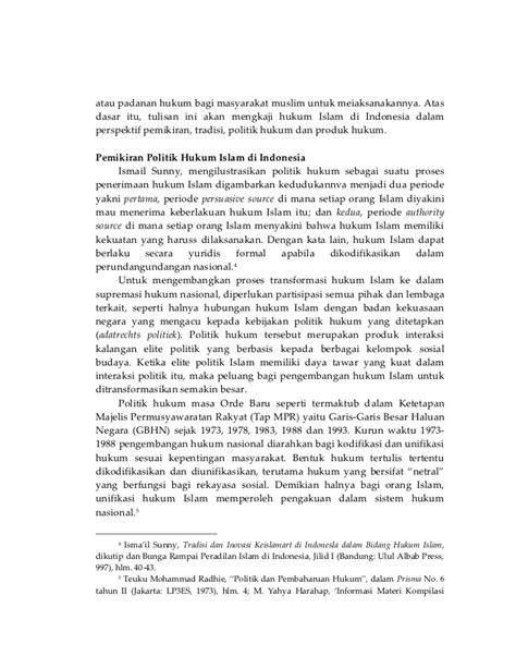 Hukum islam di indonesia