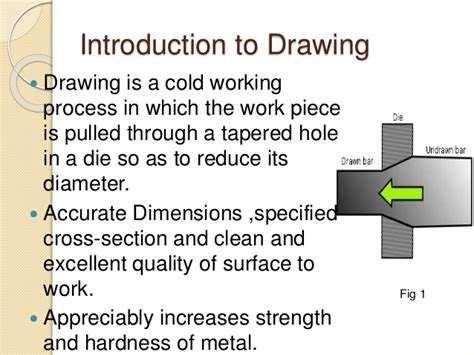 drawing processes  manufacturing